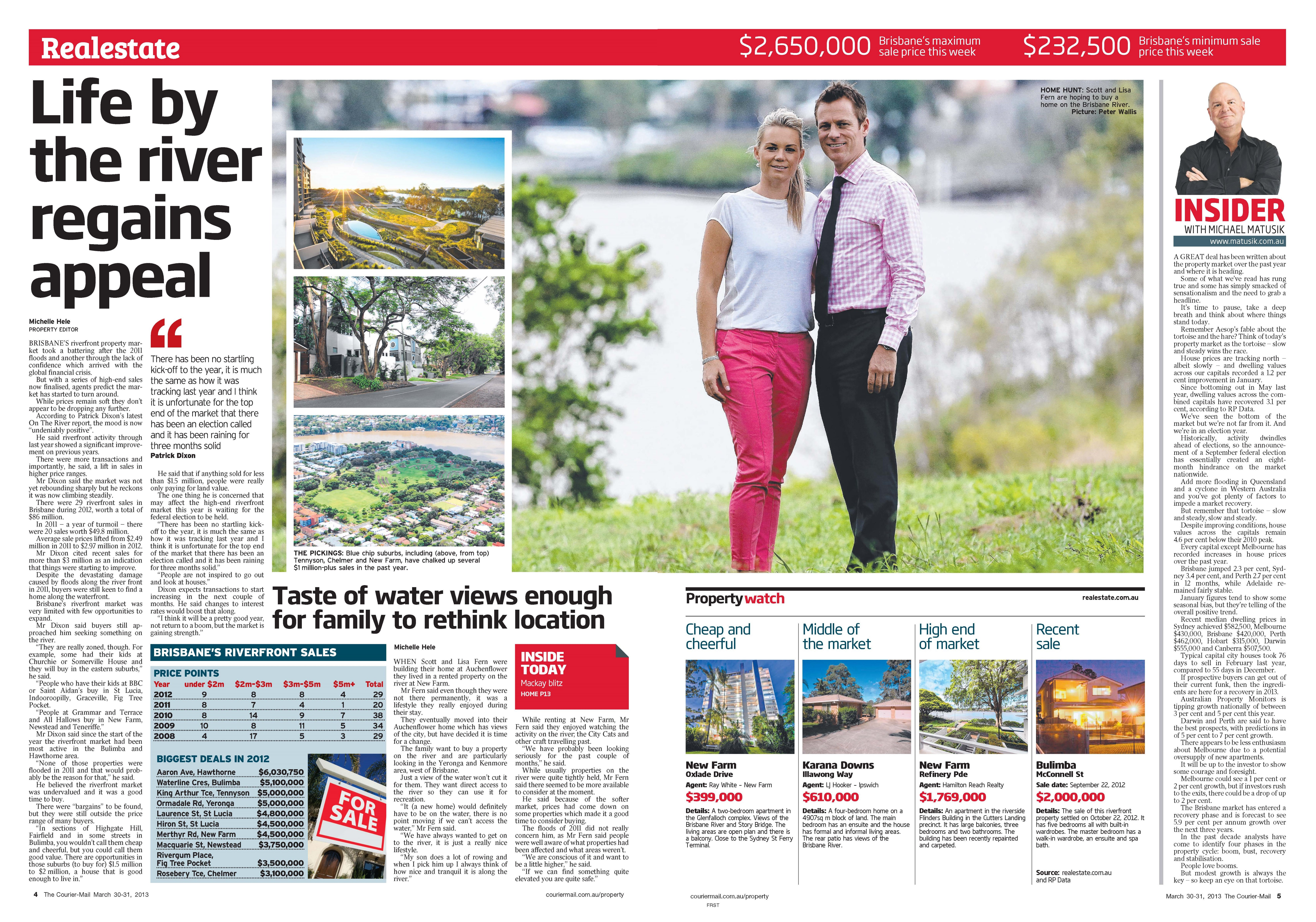 Life by the River Regains Appeal